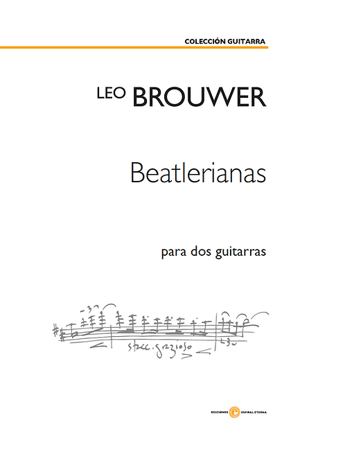 Beatlerianas for two guitars