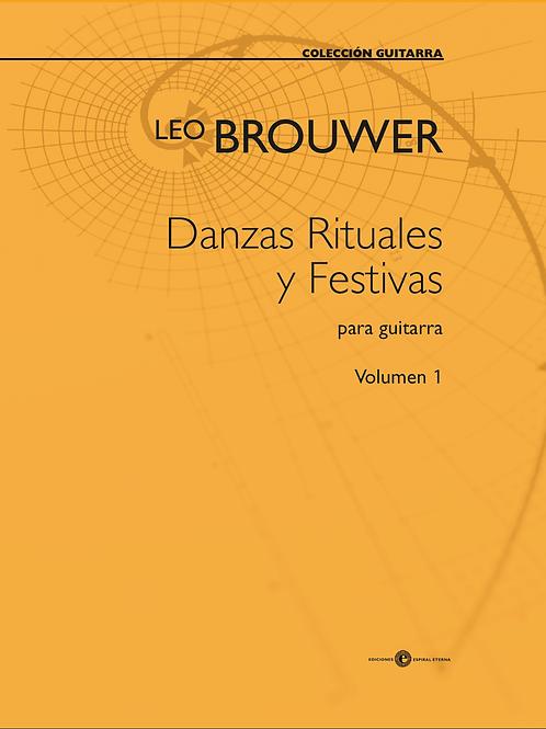 Danzas rituales y festivas    vol. 1