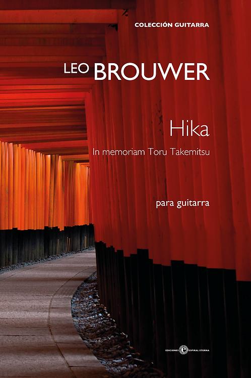 Hika. In memoriam Toru Takemitsu