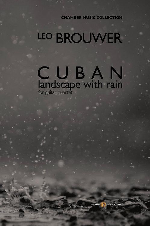 Cuban Landscape With Rain