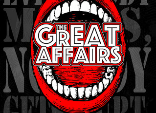 The Great Affairs Special Guests On The Record Machine Show Podcast 9/29/2020
