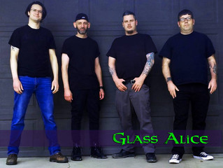 Glass Alice Special Guests On The Record Machine Show Podcast April 30, 2019
