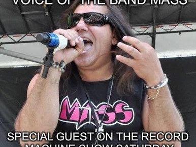The Record Machine Show With Special Guest Louis St. August The Lead Singer Of The Band Mass