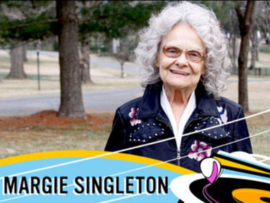Margie Singleton Special Guest On The Record Machine Show Podcast October 12, 2018
