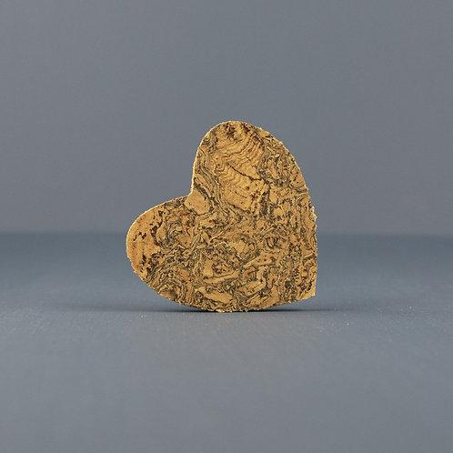 Cork Magnet | Heart