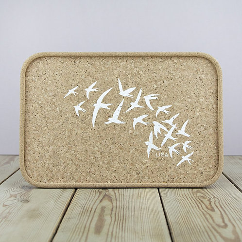 Cork Tray | Swallows