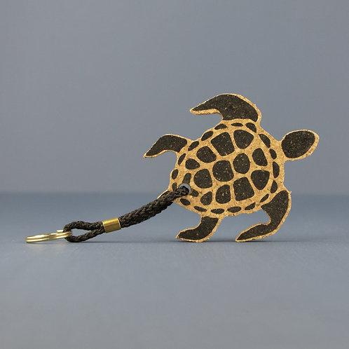 Cork Keyring | Turtle