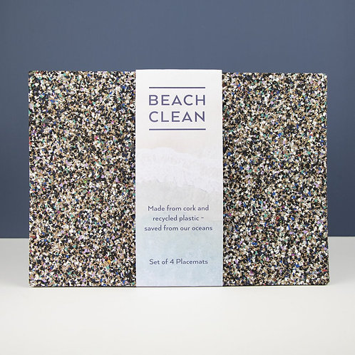 Eco Table Mats   Beach Clean   Rectangle