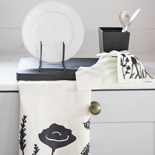 Organic Tea Towel | Wildflowers