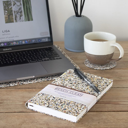 Cork Notebook | Beach Clean