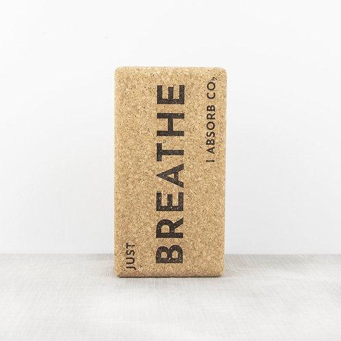Cork Yoga Block | Breathe