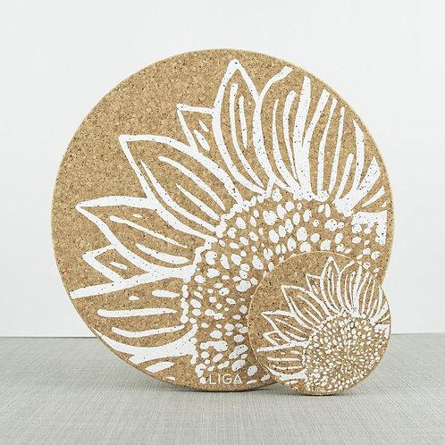 Cork Mats | Sunflower