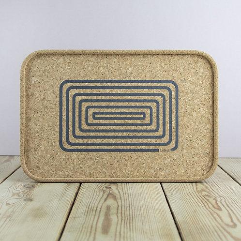 Cork Tray | Orbit Grey