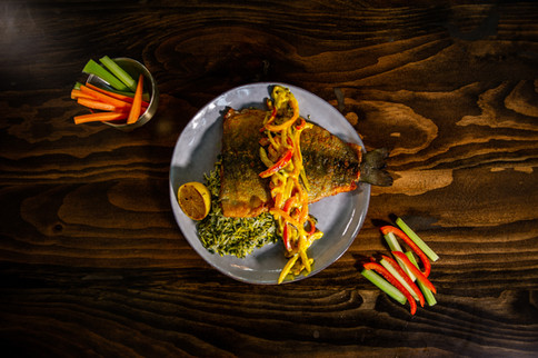 Trout & Herb Rice