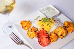 Chicken Kabobs Divan Restaurant Atlanta