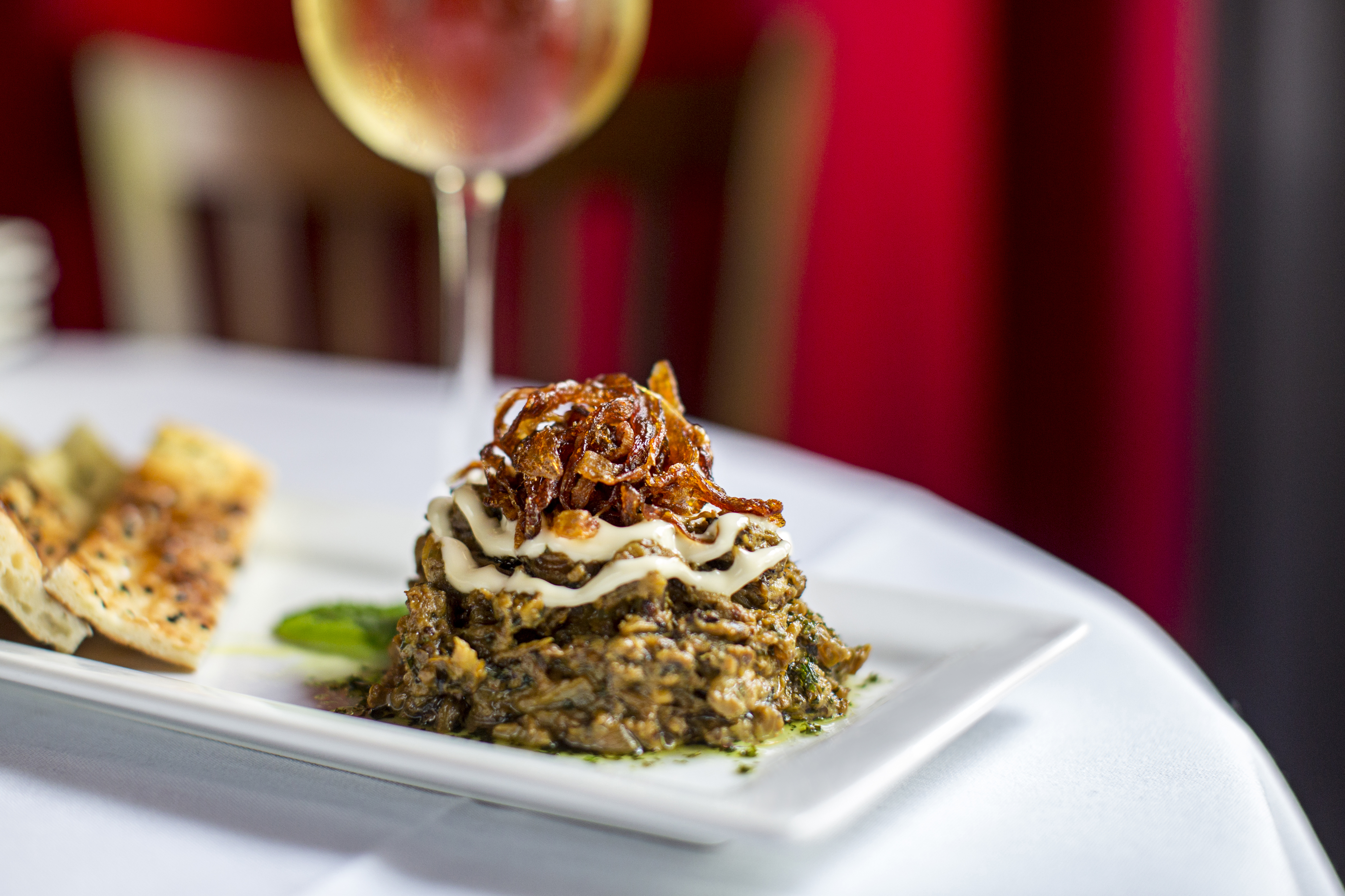 Eggplant Divan Restaurant Atlanta