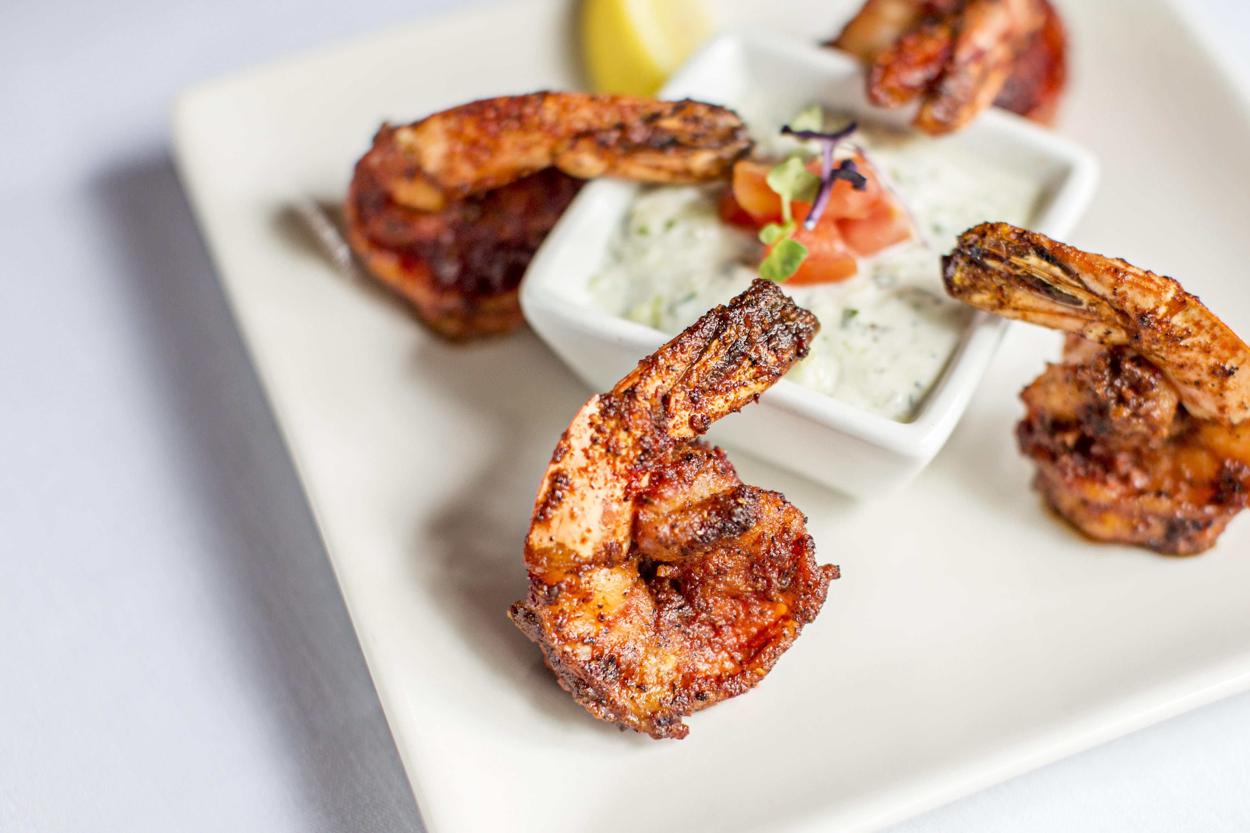 Garlic Shrimp Divan Restaurant Atlanta