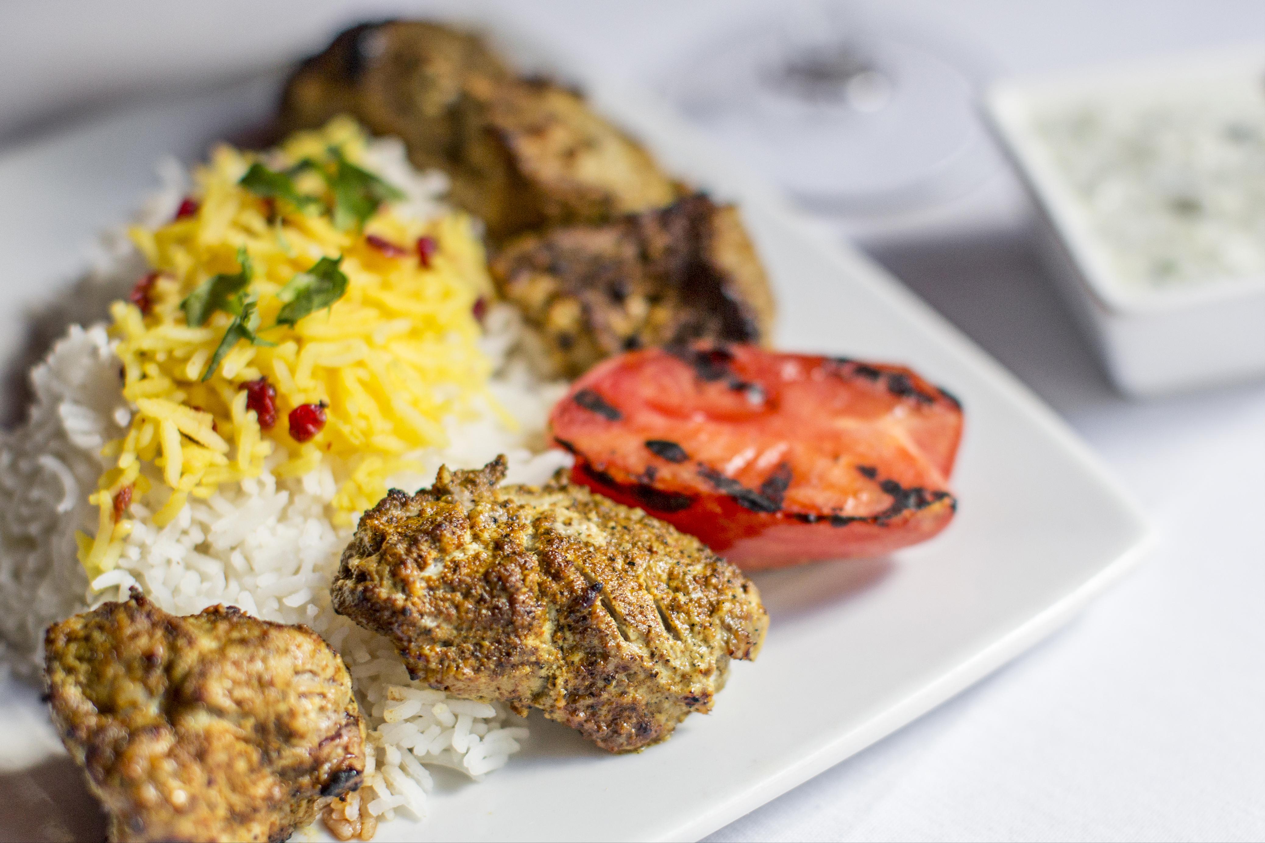 Lamb Kabobs Divan Restaurant Atlanta