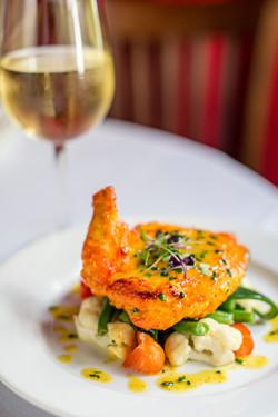 Airline Chicken Breast Divan Restaurant Atlanta