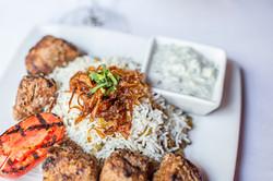 Beef Kabobs Divan Restaurant Atlanta