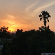 Sunset, September 2018
