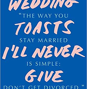 Q and A with Ada Calhoun about Wedding Toasts I'll Never Give