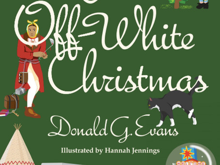 Q and A with Donald Evans, author of the new story collection, An Off-White Christmas