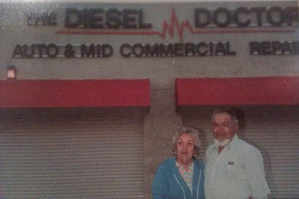 First diesel doctor shop with emma and jesse Sr