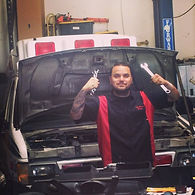 Matt with ambulance