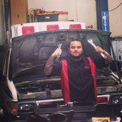 matt with ambulance