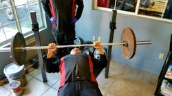 bossman lifting weights
