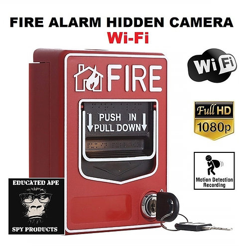 Fire Alarm Hidden Camera Wi-Fi - 1080P