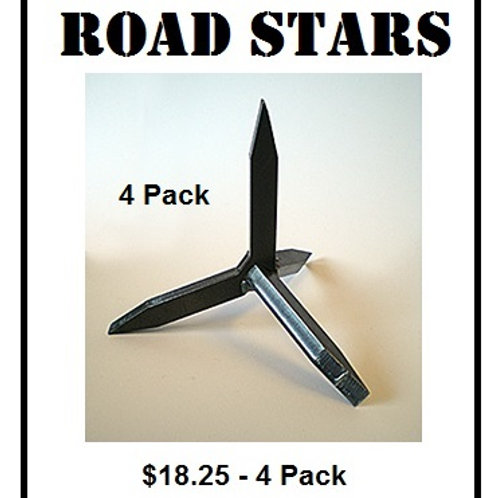 ROAD STARS (Pack of 4)