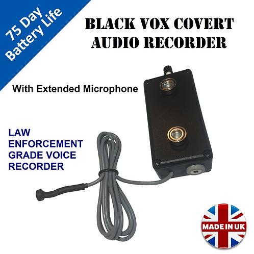 Black Vox Hidden Voice Activated Recorder