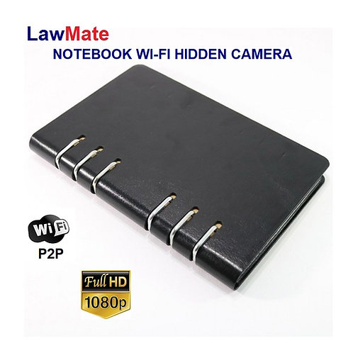 Lawmate Notebook P2P Wi-Fi Camera