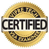 VIPRE Tech Certified VSA Examiner