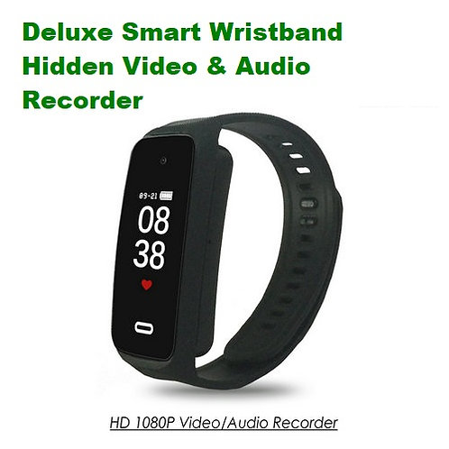 Deluxe Smart Wristband Hidden Camera