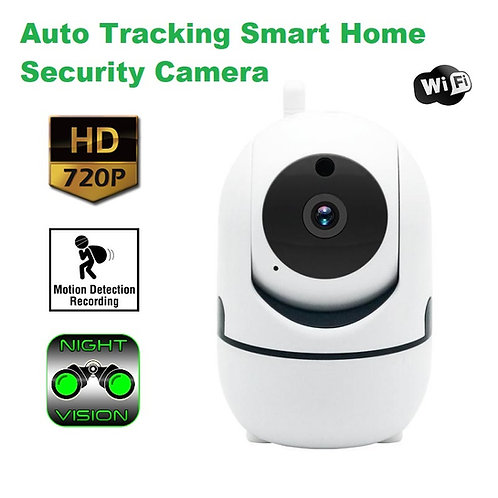 Auto Tracking Smart Home Security Camera - WiFi