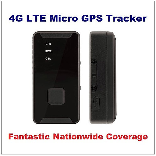 4G LTE Personal GPS Tracker
