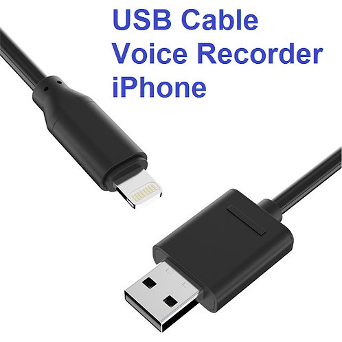 USB Cable Voice Recorder - iPhone / iPad