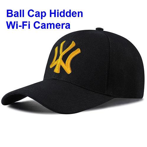 Ball Cap Hidden Wi-Fi Camera