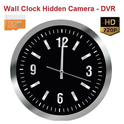 Wall Clock Hidden Camera - DVR