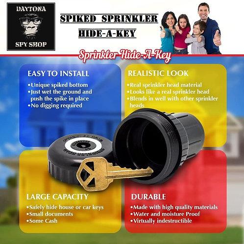 Spiked Sprinkler Key Hider