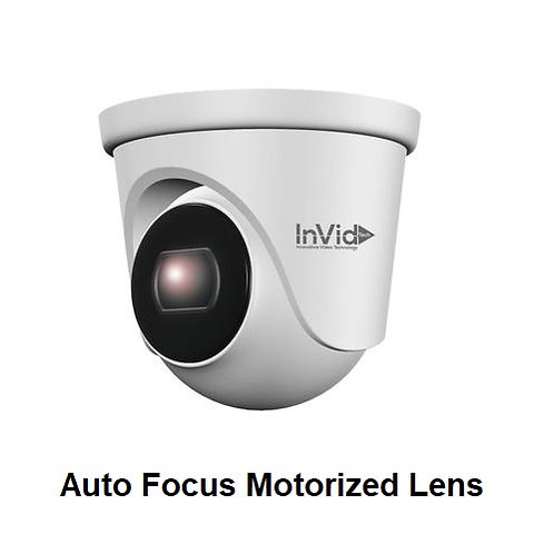 5MP Outdoor Turret with Auto Focus Motorized Lens