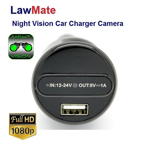 Car Charger Hidden Camera - Night Vision