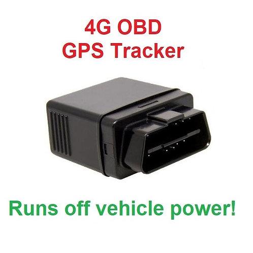 OBD Plug and Play GPS Tracker