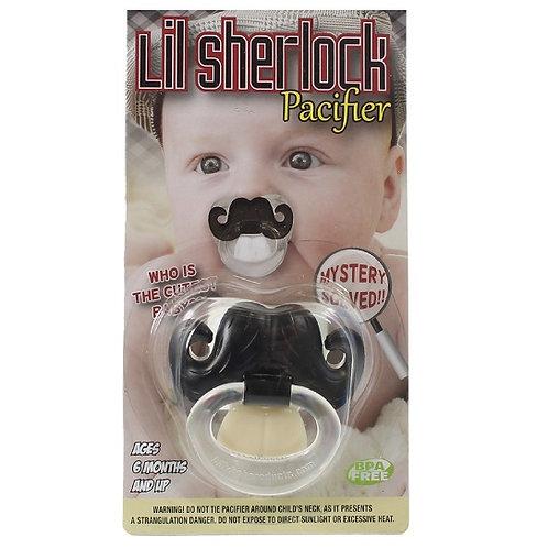 Lil Sherlock Baby Pacifier