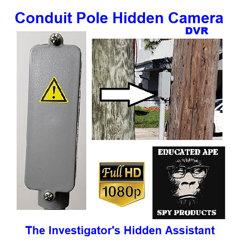 Conduit Box / Pole Hidden Camera DVR