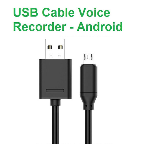 USB Cable Voice Recorder - Android