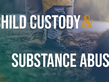 Proof of Drug Use in Child Custody Cases